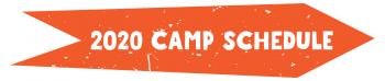 2020 Camp Schedule